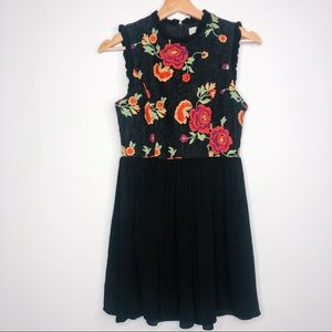 Altar'd State Lace Embroidered Floral Dress